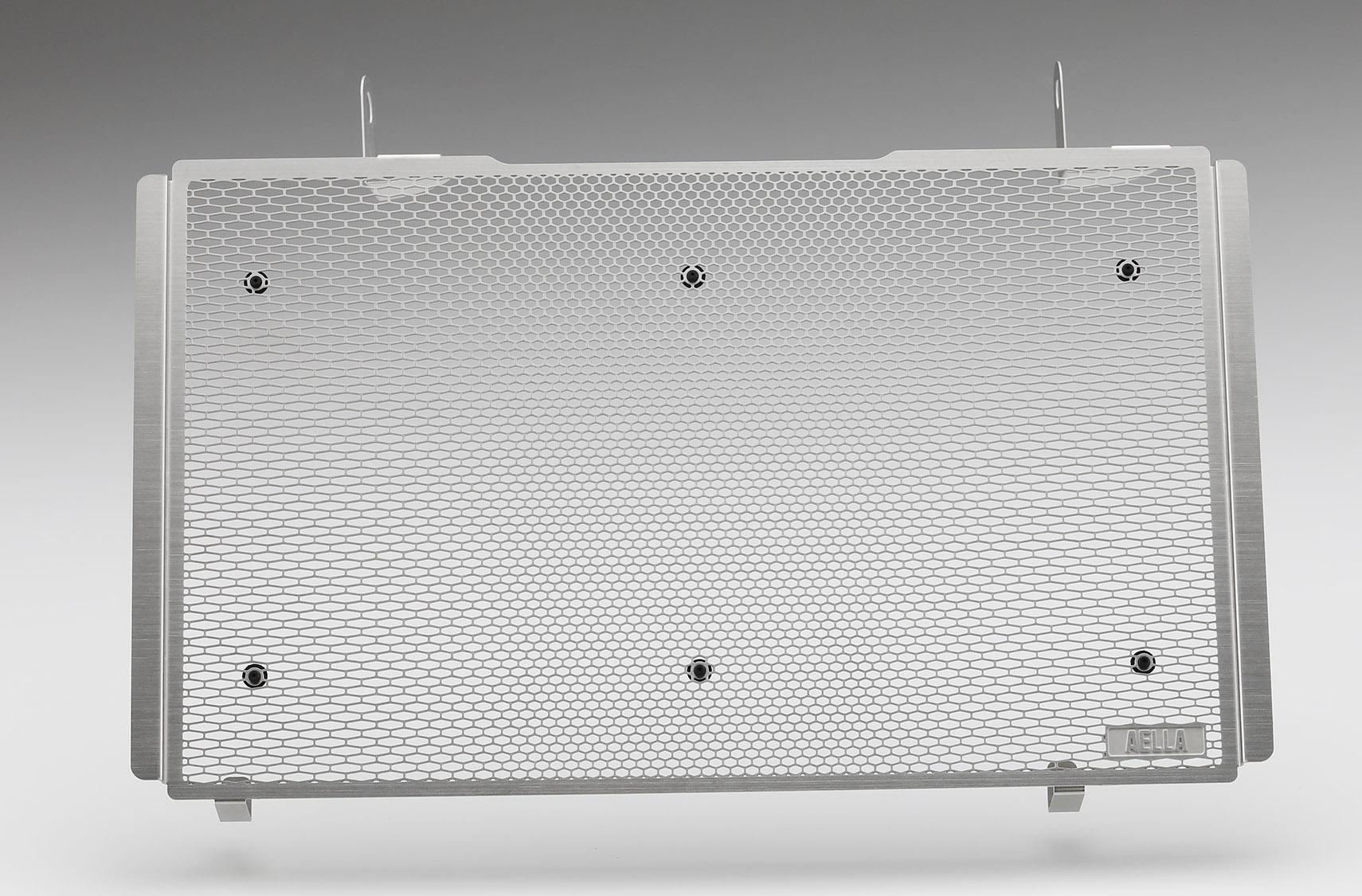 アエラ ラジエタープロテクター ブラック DUCATI MONSTER 21-/MONSTER plus 21-