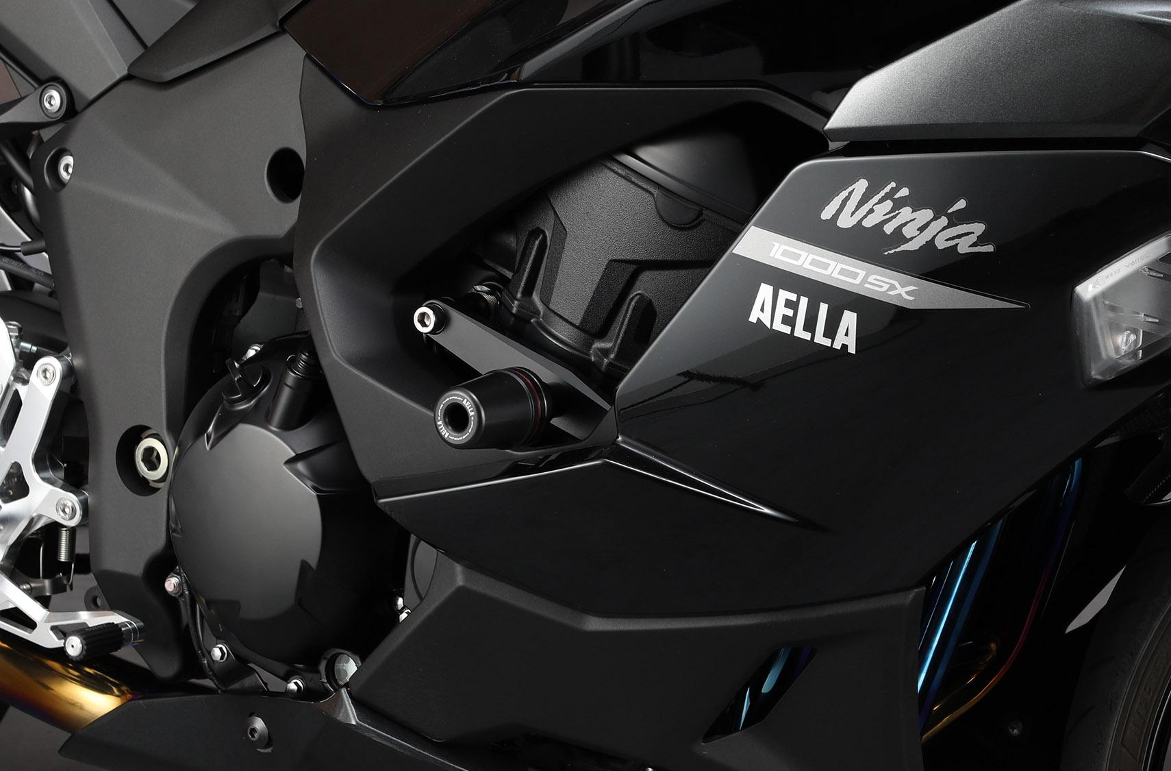 アエラ フレームスライダー ブラック Ninja1000SX