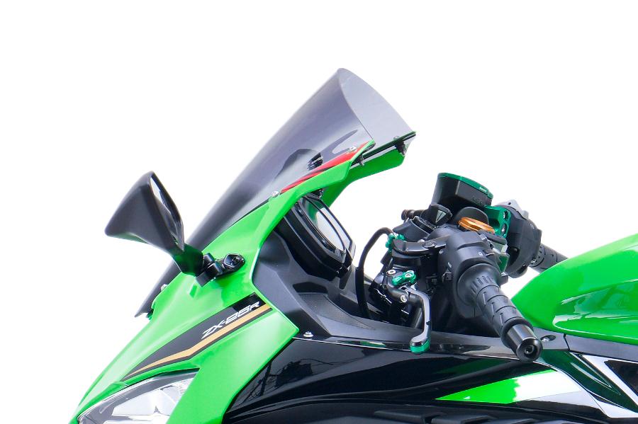 エムアールエー スクリーン レーシング スモーク Ninja ZX-25R/SE 20-21