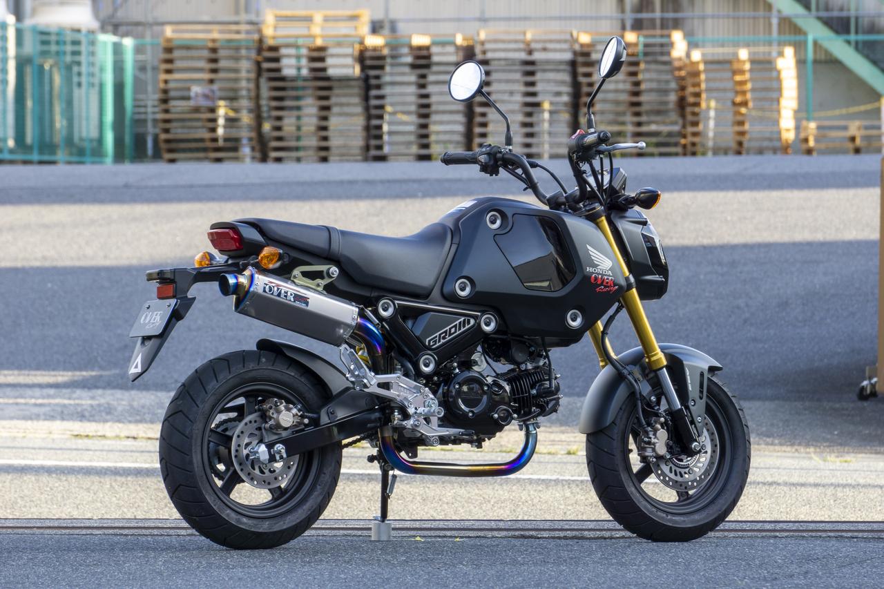 オーヴァーレーシング TT-Formulaフルチタンアップタイプ GROM 21-