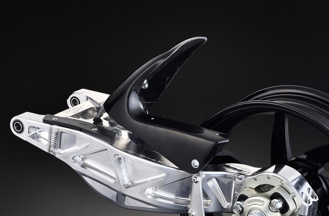 オーヴァーレーシング モノアーム専用 リアフェンダー Z125 PRO