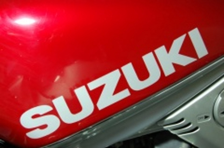 ユニコーンジャパン SUZUKI タンクエンブレム シルバー SSL用