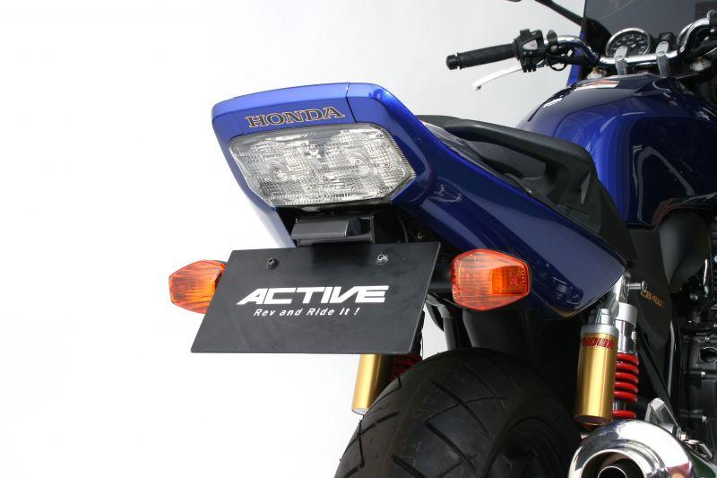 アクティブ フェンダーレスKIT LEDナンバートウツキ BLK CB400SF 14-20/CB400SB 14-19