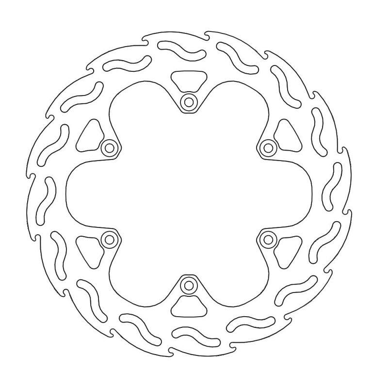 モトマスター フレイム ステンローター (オフロード) R)RM125 99-05/250 99-05/DR-Z400SM 05-08 etc
