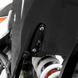 アールアンドジー リアフットレストプレート BLK KTM 390Adventure 20-