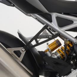 アールアンドジー エキゾーストハンガー ブラック TRIUMPH Speed Triple1200RS 21-