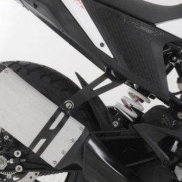 アールアンドジー エキゾーストハンガー ブラック KTM 390Adventure 20-