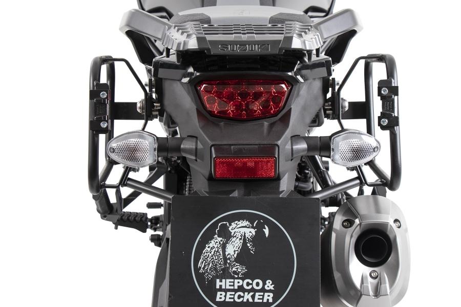 ヘプコアンドベッカー サイドキャリア Lock-it ブラック (XT不可)V-Strom1050 20