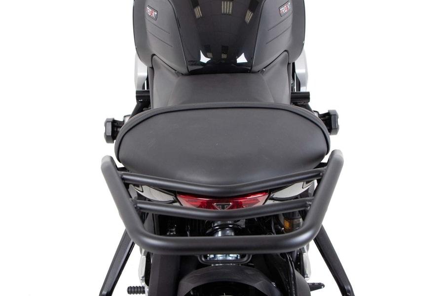 ヘプコアンドベッカー リアキャリア ブラック(トップケース不可) Trident 660 21