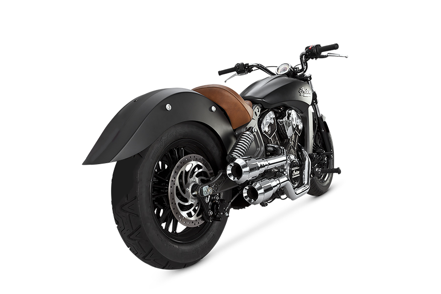 HO GRENADES 2-2 CHROME    INDIAN SCOUT 15-16