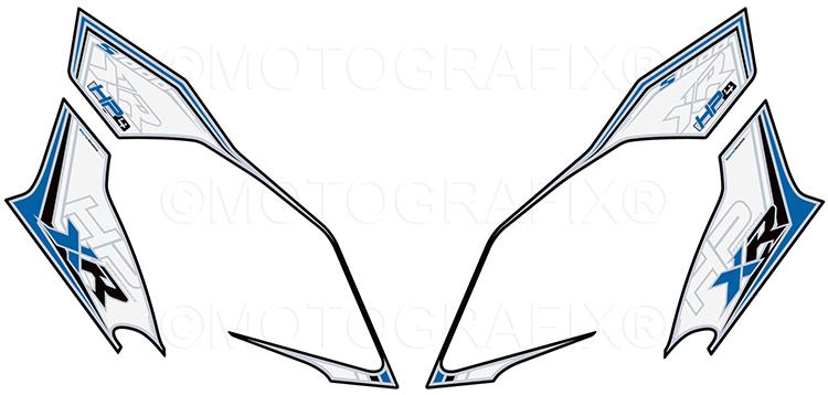 モトグラフィックス ボディパッド FRONT S1000XR 15-19