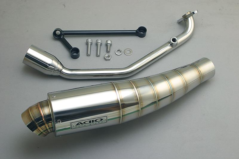 アディオ BB-SHOOTマフラー ステンレス PCX JK05/JK06/KF47 21/1-
