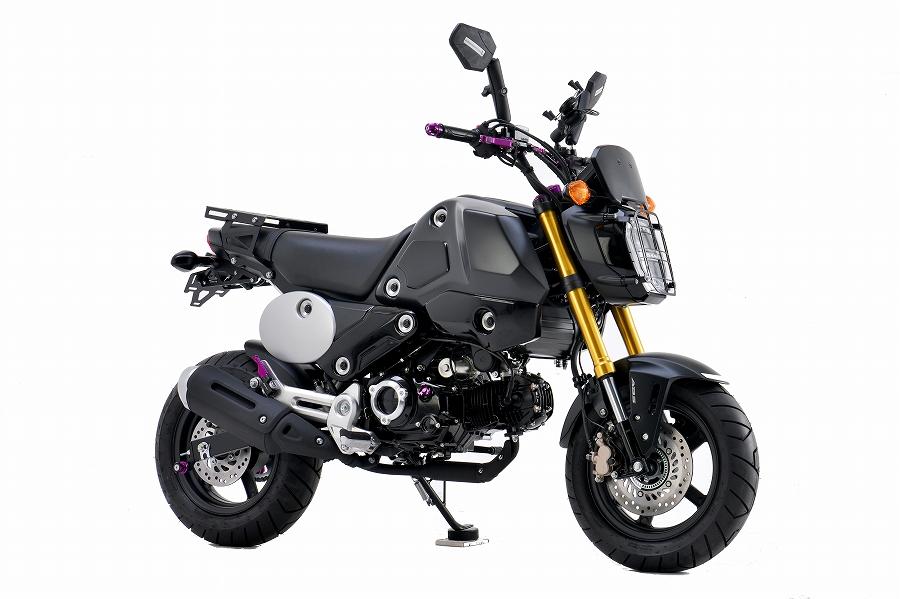 エイチツーシー 外装キット スクランブラー ブラック GROM 21