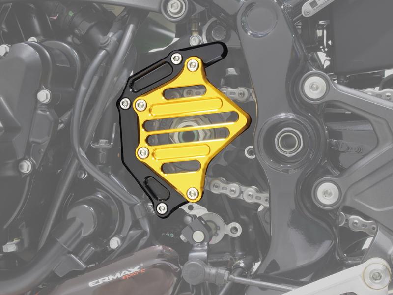 ポッシュフェイス スプロケットカバー シルバー Z900RS/CAFE 18-21