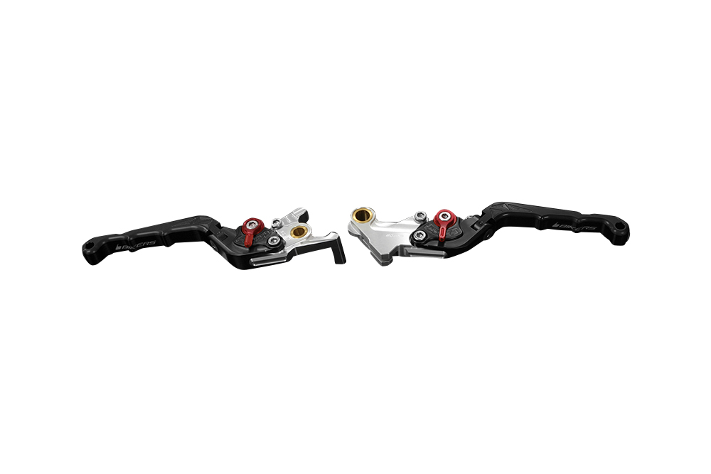 バイカーズ 可倒式ADJ レバーセット ブラック GROM 13-21 MONKEY125 18-21 CB250R/CB125R 18-21
