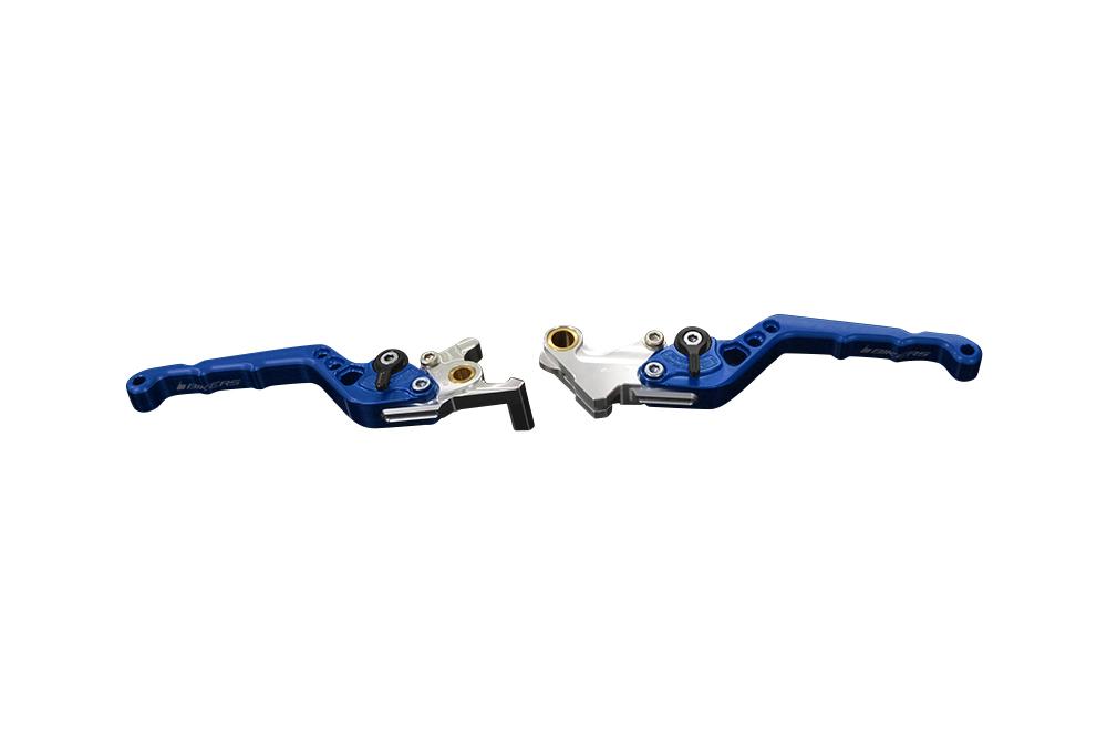 バイカーズ アジャスタブル レバーセット ブルー GROM 13-21 MONKEY125 18-21 CB250R/CB125R 18-21