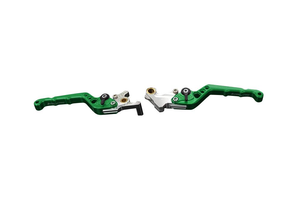 バイカーズ アジャスタブル レバーセット グリーン GROM 13-21 MONKEY125 18-21 CB250R/CB125R 18-21
