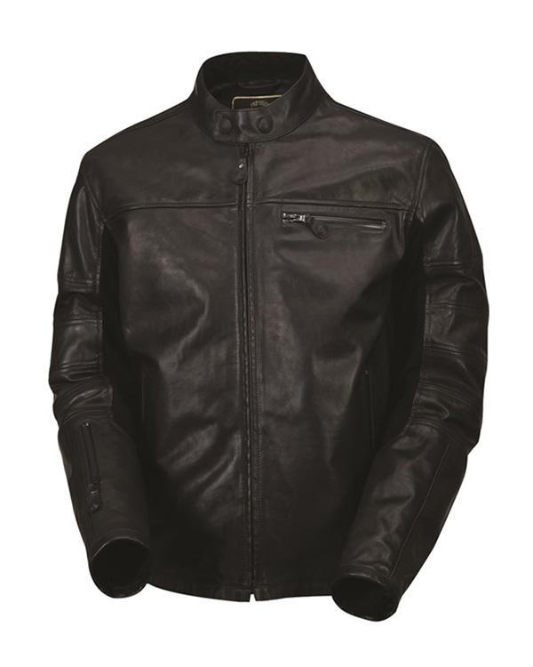 ローニンレザージャケット ブラック OPS