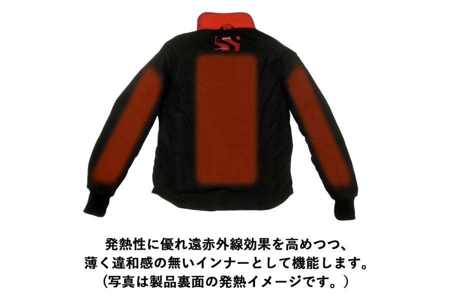 ケイス プレミアム ヒートジャケット J501 48(Sサイズ)