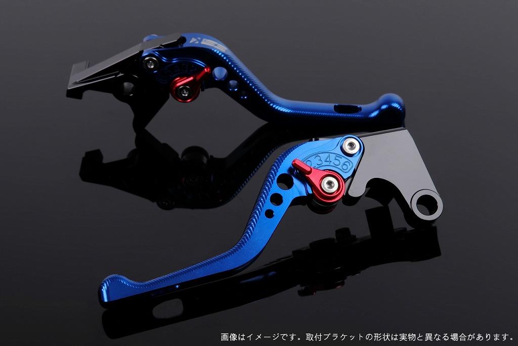 エスエスケイ スピードラ アジャストレバー 3Dショート ブルー/レッド CBR250R MC41 CBR400R NC47