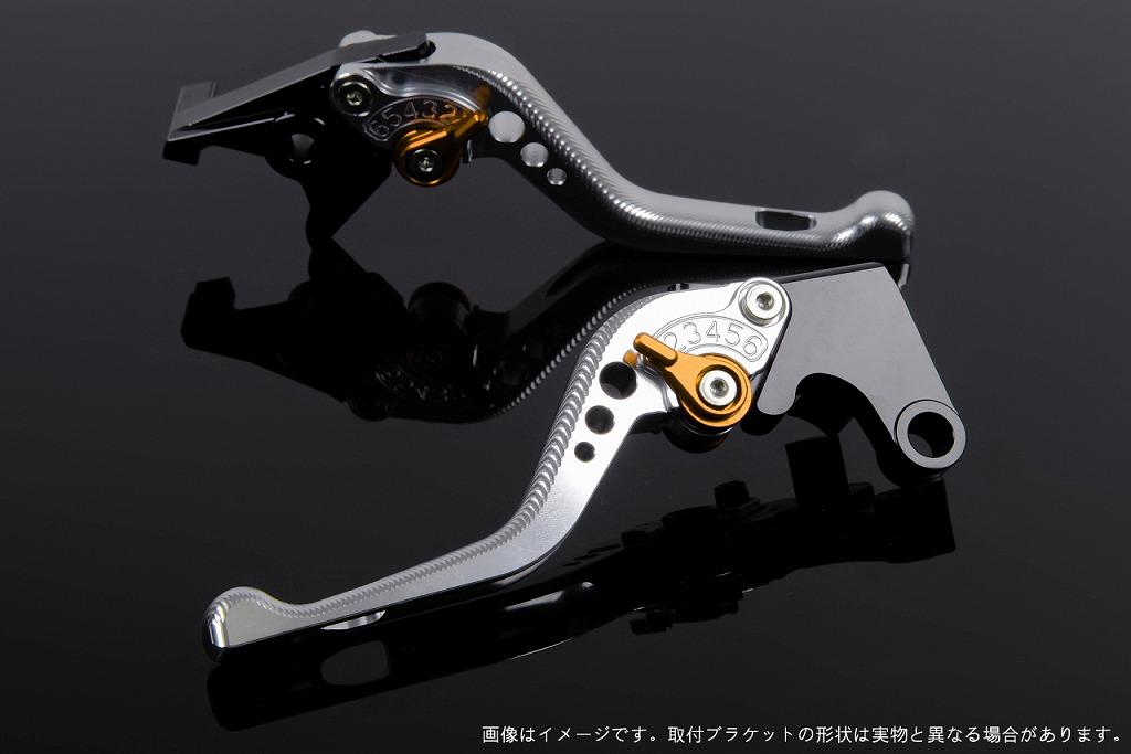 エスエスケイ スピードラ アジャストレバー 3Dショート シルバー/ゴールド CBR250R MC41 CBR400R NC47
